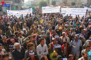حملة 11 فبراير تخرج مسيرة حاشدة من ساحة التغيير بصنعاء تطالب باقالة و حاسبة حكومة الوفاق (5)