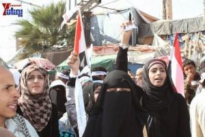 حملة 11 فبراير تخرج مسيرة حاشدة من ساحة التغيير بصنعاء تطالب باقالة و حاسبة حكومة الوفاق (50)