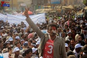حملة 11 فبراير تخرج مسيرة حاشدة من ساحة التغيير بصنعاء تطالب باقالة و حاسبة حكومة الوفاق (59)
