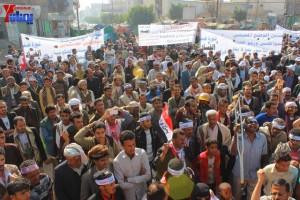 حملة 11 فبراير تخرج مسيرة حاشدة من ساحة التغيير بصنعاء تطالب باقالة و حاسبة حكومة الوفاق (6)