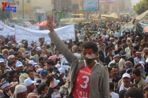 حملة 11 فبراير تخرج مسيرة حاشدة من ساحة التغيير بصنعاء تطالب باقالة و حاسبة حكومة الوفاق (60)