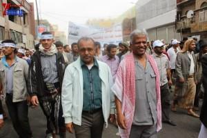 حملة 11 فبراير تخرج مسيرة حاشدة من ساحة التغيير بصنعاء تطالب باقالة و حاسبة حكومة الوفاق (62)