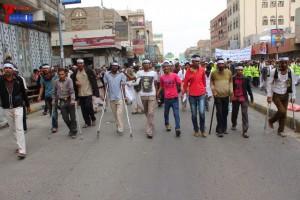 حملة 11 فبراير تخرج مسيرة حاشدة من ساحة التغيير بصنعاء تطالب باقالة و حاسبة حكومة الوفاق (73)