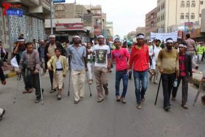 حملة 11 فبراير تخرج مسيرة حاشدة من ساحة التغيير بصنعاء تطالب باقالة و حاسبة حكومة الوفاق (74)
