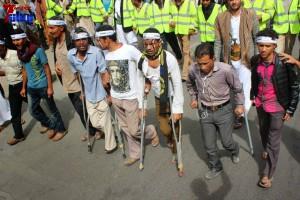 حملة 11 فبراير تخرج مسيرة حاشدة من ساحة التغيير بصنعاء تطالب باقالة و حاسبة حكومة الوفاق (76)