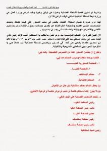 رؤية لجنة القضاء والعدل بجبهة إنقاذ الثورة لاستقلال القضاء اليمني وفقا للمعايير الدولية (22)