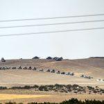 أرتال الدبابات التركية في سوريا