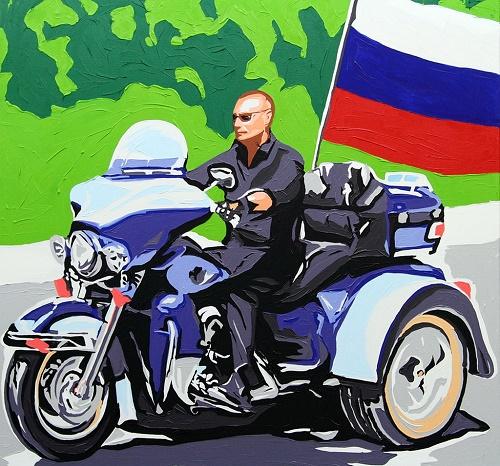 بوتين رسام