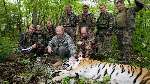 بوتين صياد