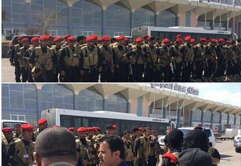 ناصر هادي في مطار عدن