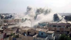 غارات الموصل